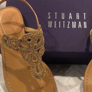 Stuart Weitzman Sugar Baby Sandals Size 8